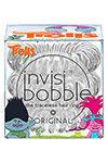 Invisibobble ORIGINAL Trolls Sparkling Clear - Invisibobble ORIGINAL Trolls Sparkling Clear резинка для волос прозрачная с блестками, 3 шт